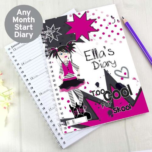 Too Cool Girl - A5 Diary